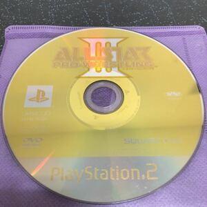 【ディスクのみ】ALL STAR PRO WRESTLINGⅢ オールスタープロレスリング3 PS2 【1993】