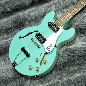 Epiphone CASINO Coupe Turquoise エピフォン/小ぶりなサイズ感《新品即決》