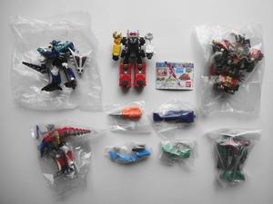 アバレンジャー ハリケンジャー ボウケンジャー HGシリーズ 5種セット フィギュア