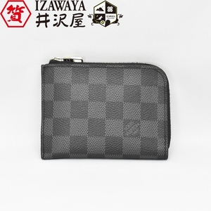 LOUIS VUITTON ルイヴィトン ダミエ・グラフィット ポルトモネ NM N63237 コイン入れ