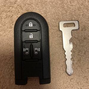 ダイハツ ムーヴキャンバス LA800S キーレス スマートキー 鍵 両側パワスラ