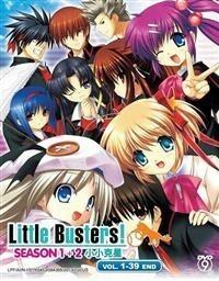 リトルバスターズ!1期2期全話 海外版DVD