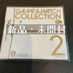 DSソフト 新品未開封 ゲームウォッチ コレクション2 GAME&WATCH