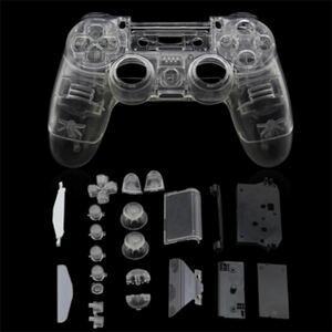 PS4 Dualshock4 交換用シェルセット(クリア)JDM-001 JDM-011用