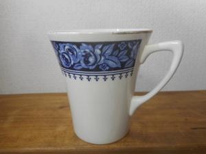 東洋陶器 ばら マグカップ 陶器製 昭和レトロ TOYOTOKI ビンテージ 薔薇