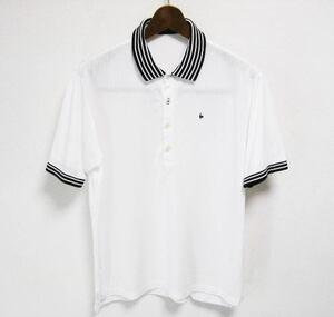 le coq sportif GOLF COLLECTION ルコックゴルフ 半袖ポロシャツ LLサイズ XL 2L O