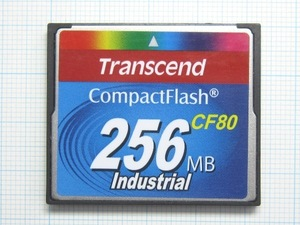 ★Transcend コンパクトフラッシュ 256MB 中古★送料63円~