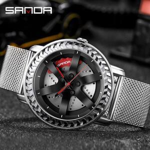 【中古売ります】【最安値に挑戦】三田ファッションスポーツメンズ腕時計高級クォーツ腕時計ビジネス防水時計レロジオmasculino P1050