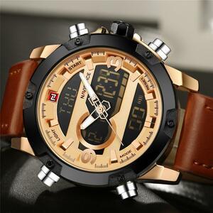 【最安値宣言】【目立った傷や汚れなし】NAVIFORCEスポーツ腕時計メンズクォーツ時計男性カジュアル軍事防水腕時計レロジオMasculino
