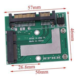 【最安値宣言】【目立った傷や汚れなし】Msata ssd 2.5インチsata 6.0gpsアダプタコンバータカードモジュールボードミニpcie ssd