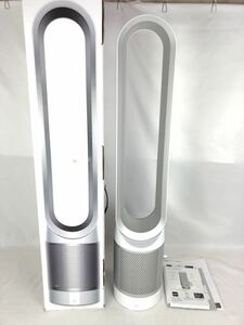 ダイソン 空気清浄機能付 タワーファン dyson Pure Cool Link TP02WS ホワイト/シルバー 箱 説明書 リモコン