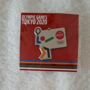コカ・コーラ 東京 2020 オリンピック ピンバッジ バドミントン