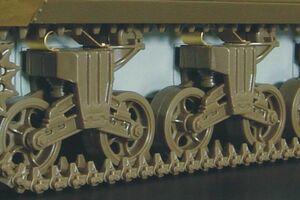 ハウラー HLX48076 1/48 M4/M10 VVSSサス スキッド エッチングパーツ(タミヤ用)