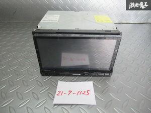 保証付!! KENWOOD ケンウッド MDV-X701 メモリーナビ カーナビ CD DVD再生 地デジ 地図データ2013年 本体のみ 即納 棚M-2