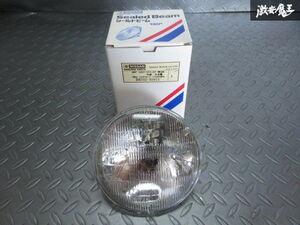 未使用 日産 純正 市光製 汎用品 シールドビーム 丸型 外側 ヘッドライト レンズ 130Φ 12V 1個 B6702-89915 棚M-1