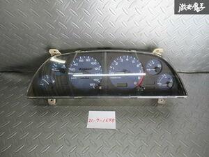 保証付 日産 純正 HCR32 スカイライン RB20DET MT車 スピードメーター タコメーター 計器 走行距離 142143km 即納 棚P-1