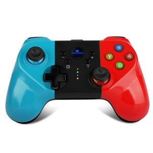 2021新バージョン 任天堂スイッチ ワイヤレスプロコントローラー Switch 無線 赤(レッド) 青(ブルー) 黒(ブラック)