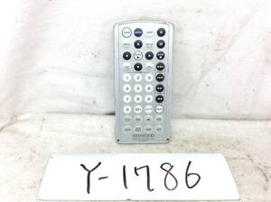 Y-1786 ケンウッド RC-DV450 VDR-05 用 DVDプレーヤー用 リモコン 即決 保障付