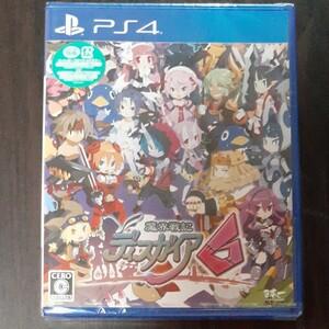 【新品】PS4 魔界戦記ディスガイア6【送料無料】