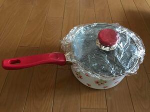 マザーガーデン いちご 片手鍋 IH対応