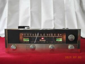 McIntosh MR65B 真空管FMステレオチューナー 日本国内ワイドFM対応調整済