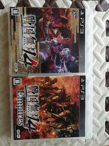 美品盤面傷無し PS3 戦国無双4 EmpiresPS3 戦国無双4 2本セット