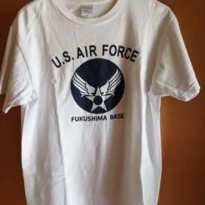 美品 着用2回 U.S.AIR FORCES エアフォース プリント Tシャツ サイズM 着丈65