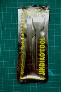 菱目打ち 4mm 4本セット 未使用・新品 海外製品 レザークラフト道具