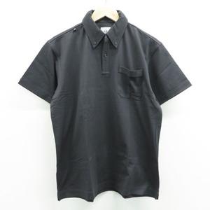 【新品】ZOY ゾーイ 半袖ポロシャツ ボタンダウン グレー系 1 [240001525715] ゴルフウェア メンズ