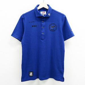 MASTER BUNNY EDITION マスターバニーエディション 10周年 2020年モデル 半袖 ポロシャツ ブルー系 5 [240001521163] ゴルフウェア メンズ