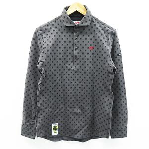 MASTER BUNNY EDITION マスターバニーエディション 2020年モデル 長袖ポロシャツ バットマン グレー系 5 [240001469967] ゴルフウェア