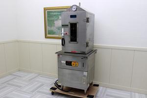 超美品!マルゼン 電気式 蒸し器 MUSE-066 セイロ蒸し機器 アラハタフードマシン スチーマー 3相200V 店頭実演販売催し物 店舗厨房業務用