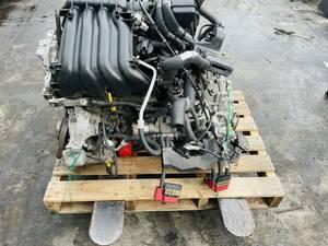 動作OK 24年日産セレナハイウェイスターハイブリッド HFC26 純正 MR20 エンジン/ オートマミッション