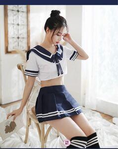 写真 コスプレ衣装 水着 学生服 制服 セクシー tバック  セーラー服 トップス セクシーコスプレ セクシーランジェリー 衣装