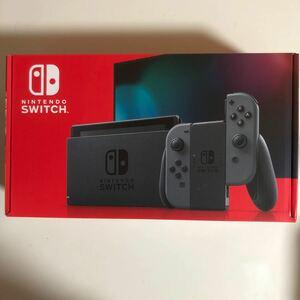 Nintendo Switch ニンテンドースイッチ本体 Joy-Con (L) (R) グレー任天堂 新品未開封品