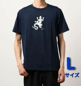 アニエスベー Tシャツ SF64 TS レザール ネイビー メンズLサイズ(2)