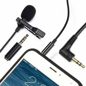 【☆新品☆未使用☆】ピンマイク コンデンサーマイク 高音質 スマホ iPhone iPad 対応 #025