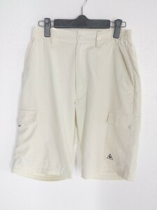 ◇ le coq sportif golf collection ルコック スポルティフ ハーフパンツ サイズM ホワイト レディース 1002800866816