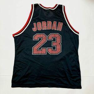 90s NBA シカゴブルズ BULLS ユニフォーム メッシュ タンクトップ JORDAN マイケルジョーダン 23 champion 90年代 チャンピオン USA バスケ
