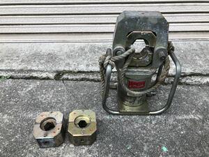 泉精器 イズミ EP-1000 油圧ヘッド分離式工具 油圧式圧縮