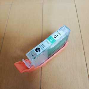 送料込み 使用済み・インク カートリッジ キャノン純正 Canon BCI-6G(グリーン)