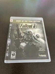 PS3 Fallout 3:Game of the Year Edition