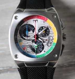technomarineテクノマリーン新品メンズクォーツクロノグラフ腕時計スイス製2008 OLYMPIC LIMITEDEDITION KRA 0529/2008限定品