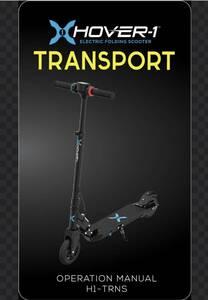 Hover-1 TRANSPORT Electric Folding Scooter 電動スクーター 電動キックボード 電動二輪車 折り畳み 電動 キックボード キックスクーター