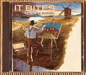 プログレCD即決送料無料、レア盤、IT BITES、THE BIG LAD IN THE WINDMILL、1986年、海外盤CDV2378