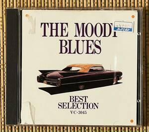 即決送料無料、プログレ、THE MOODY BLUES、THE BEST SELECTION、16曲、71分34秒収録、1986年、帯付国内盤、VC-3045