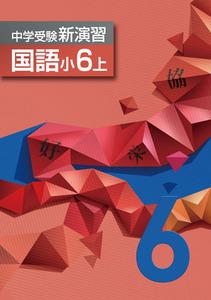 ☆中学受験新演習 6年生 国語上、算数上、理科上、社会上 4冊セット