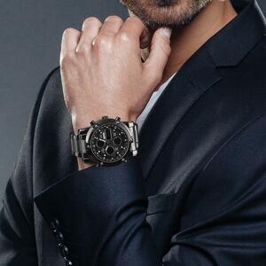 【中古売ります】【最安値に挑戦】Skmeiデジタルメンズクォーツスポーツ時計の高級ビジネスステンレス鋼腕時計防水時計リロイhombre 2018