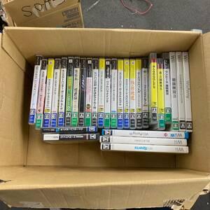 0708-02-F-4-89 ゲームソフト PSP×18 Wii×6 PS3×3 DS×1 3DS×1 計29本 まとめ セット