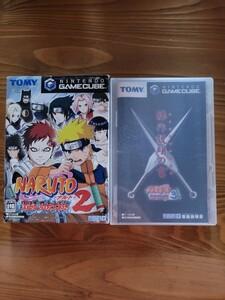 【ゲームキューブ】2本セットナルト激闘忍者大戦2.3